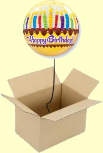 Ballon im Karton